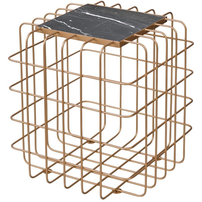 Grid End Table  by Varaluz
