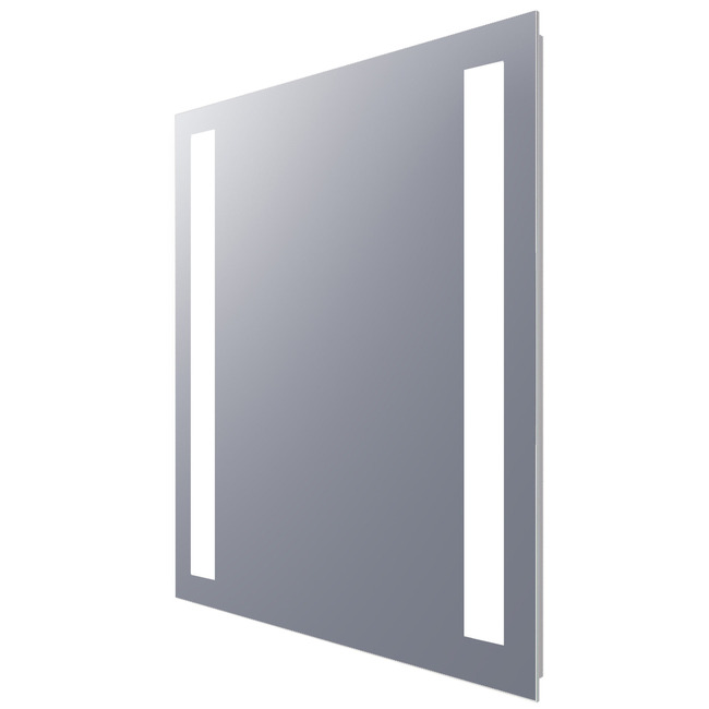 Fusion Rectangle Lighted Mirror  by Electric Mirror