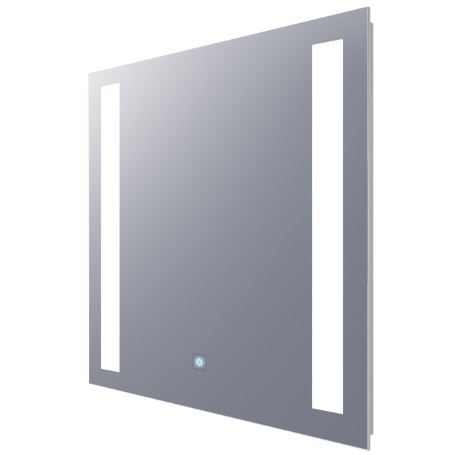 Fusion Square Lighted Mirror with Ava Dimming  by Electric Mirror