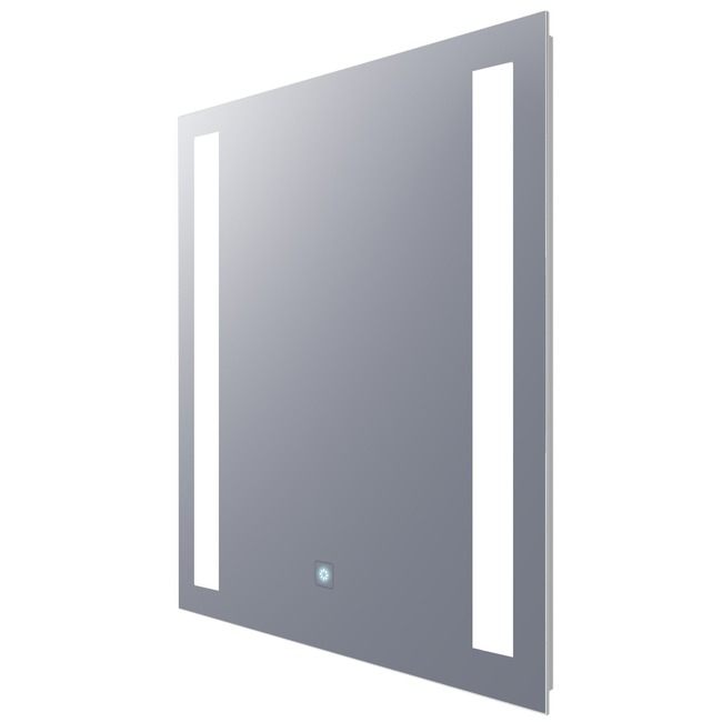 Fusion Rectangle Lighted Mirror with Ava Dimming  by Electric Mirror