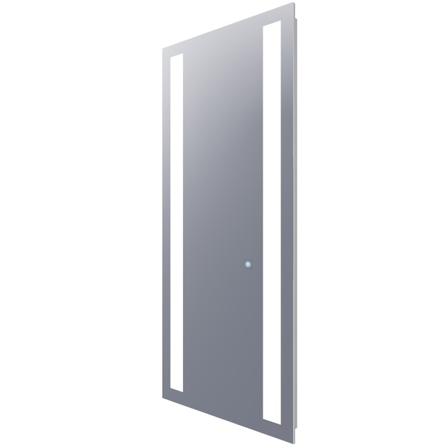 Fusion Wardrobe Lighted Mirror with Ava Dimming  by Electric Mirror