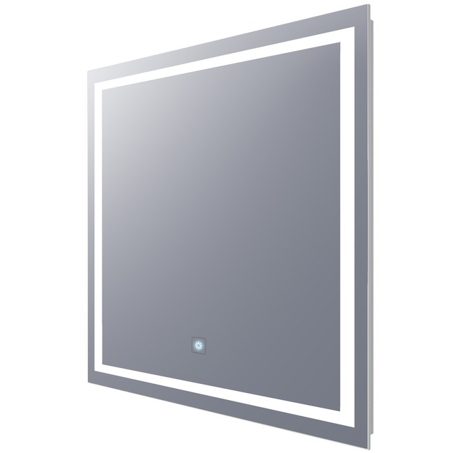 Integrity Square Lighted Mirror with Ava Dimming  by Electric Mirror