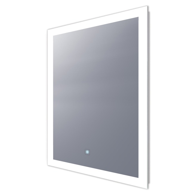 Silhouette Rectangle Lighted Mirror with Keen Dimming  by Electric Mirror