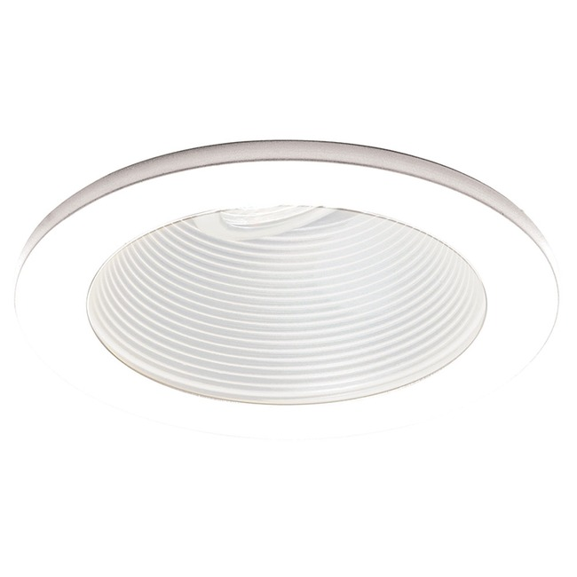 Low Voltage 4IN RD Adjustable Step Baffle Trim  by WAC Lighting