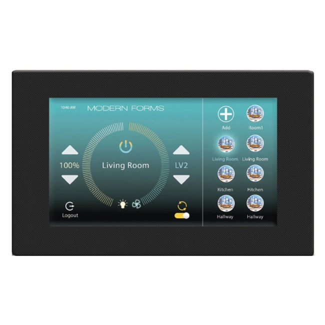 Wifi Touch Panel Wall Control  by Modern Forms