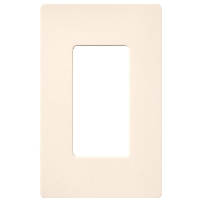 Claro 1-Gang Wall Plate by Lutron | sc-1-es