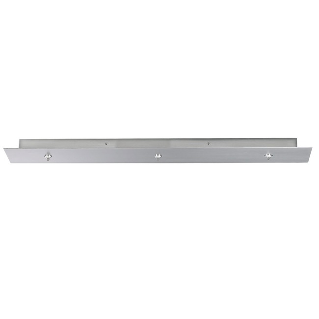 Freejack LED 3-Port 42 Inch Linear Canopy by Tech Lighting | 700FJLD3TS-LED
