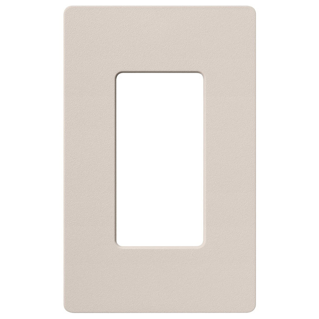 Claro 1-Gang Wall Plate by Lutron   sc-1-tp