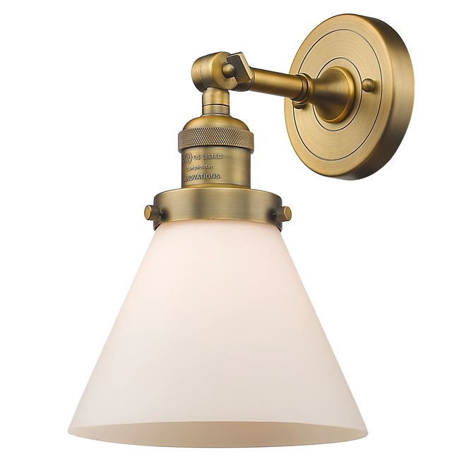 Large Cone Wall Light  by Innovations Lighting
