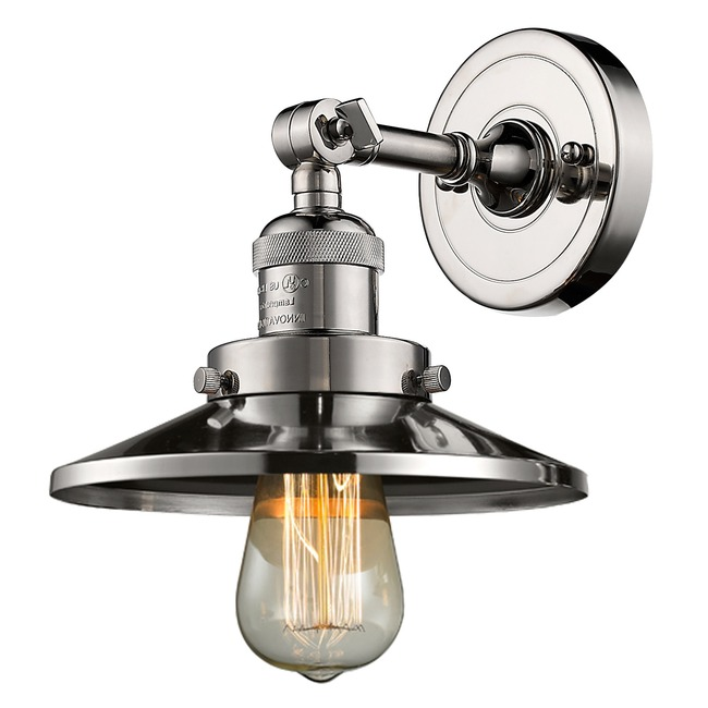 Railroad Wall Light  by Innovations Lighting