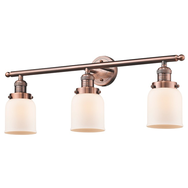 Small Bell 3 Light Bathroom Vanity  by Innovations Lighting