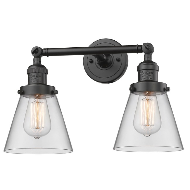 Small Cone Bathroom Vanity Light  by Innovations Lighting
