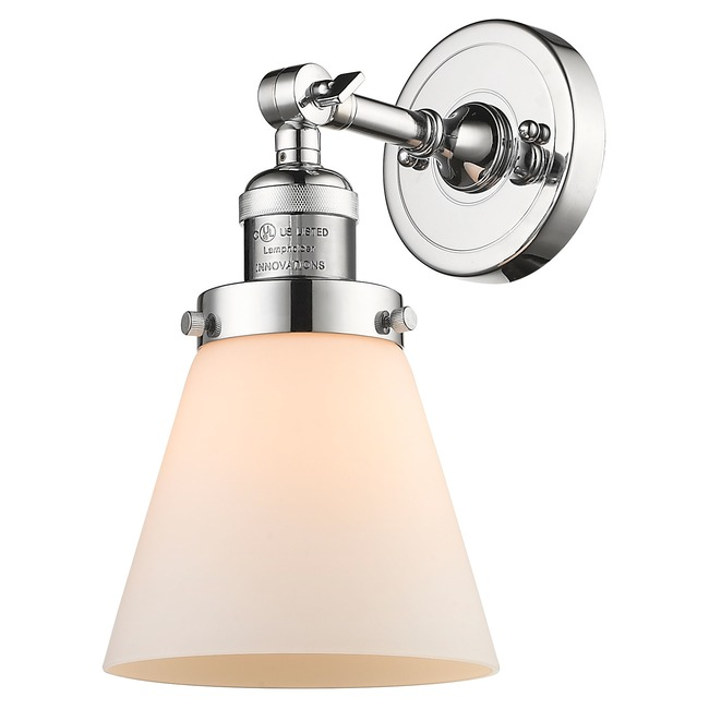 Small Cone Wall Light  by Innovations Lighting