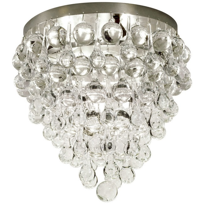 Borealis Ceiling Flush Mount  by Stone Lighting