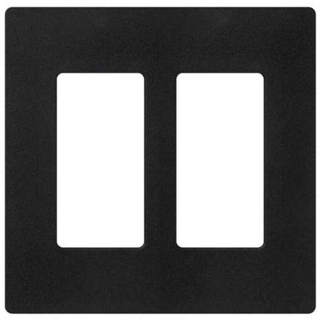 Claro 2-Gang Wall Plate by Lutron | sc-2-mn