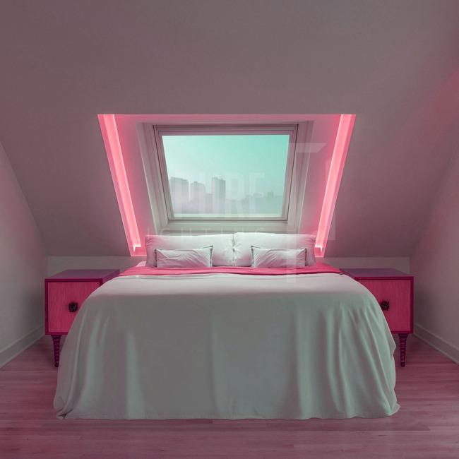 Verge Corner 6W RGB Plaster-In System  by PureEdge Lighting