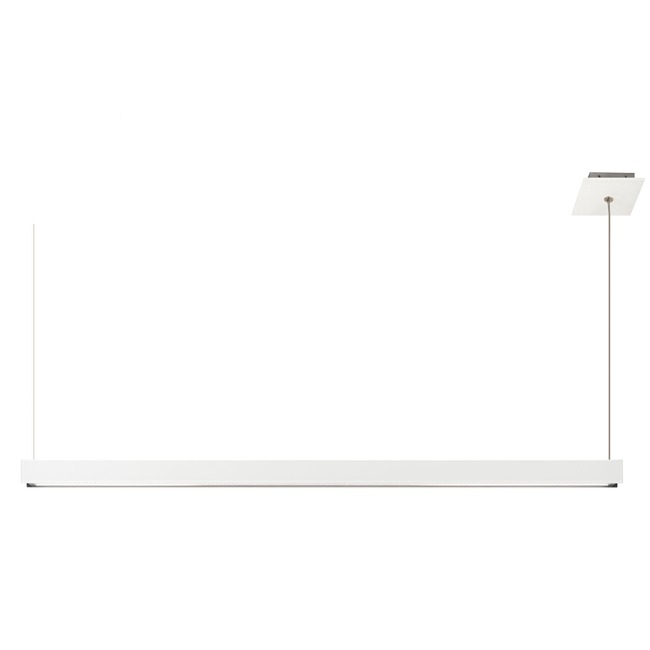 Glide Glass Up/Down Warm Dim End Feed Suspension  by PureEdge Lighting