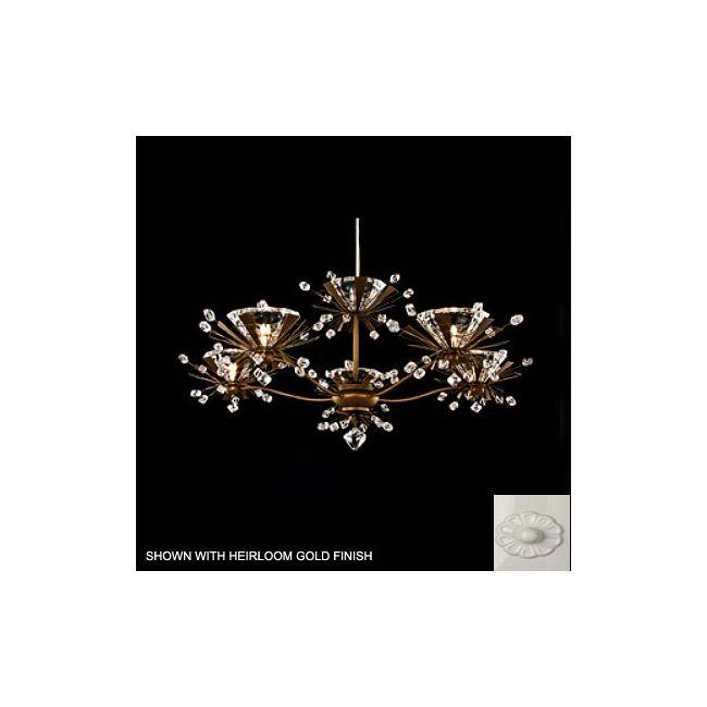 Estella 5 Light Chandelier by Schonbek | ES3805-50-S