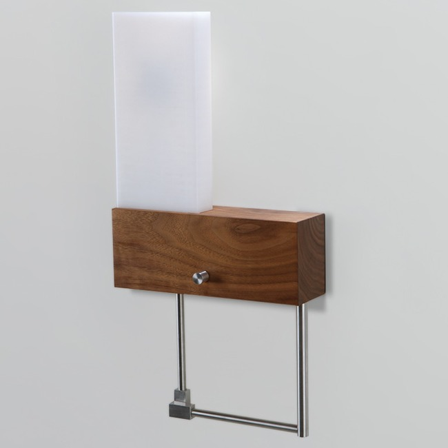 Cubo Left Bedside Wall Light by Cerno | 03-110-LH