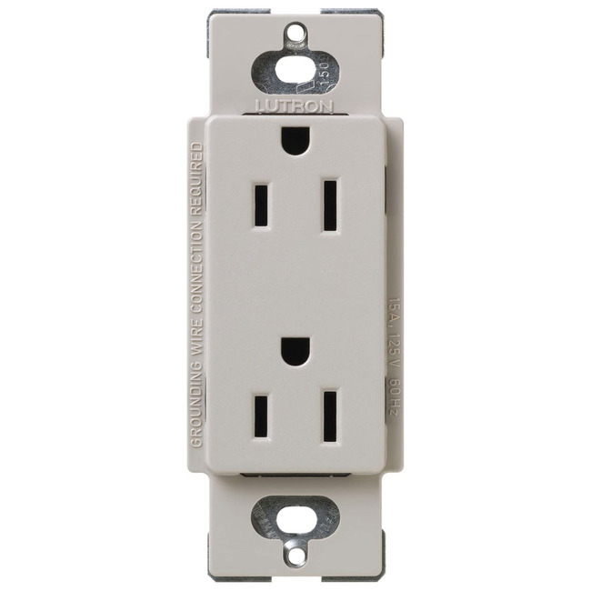 20 Amp Receptacle Satin Color by Lutron | SCR-20-TP