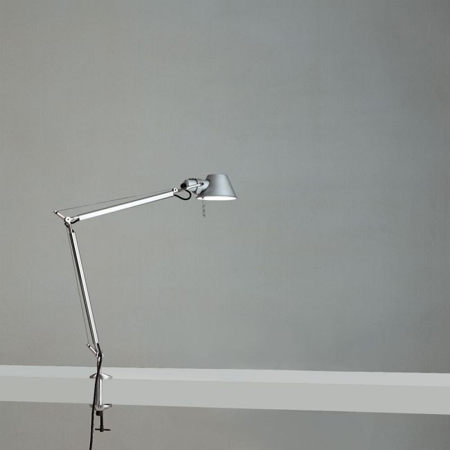 Tolomeo LED Mini Desk Lamp with Clamp  by Artemide