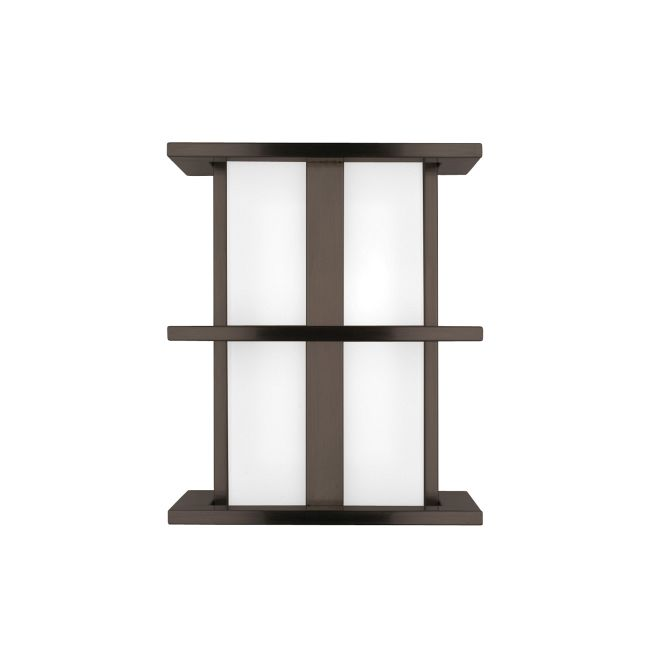 Modular Tubular Small Outdoor Wall Sconce by LBL Lighting | JW120BZ260W