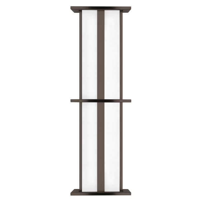 Modular Tubular Large High Ouput Outdoor Wall Sconce by LBL Lighting | PW532BZ39L1HEW