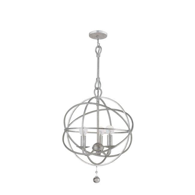 Solaris Chandelier by Crystorama  by Crystorama