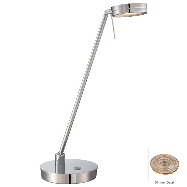 Georges Reading Room LED Flat Head Desk Lamp by George Kovacs | P4306-077