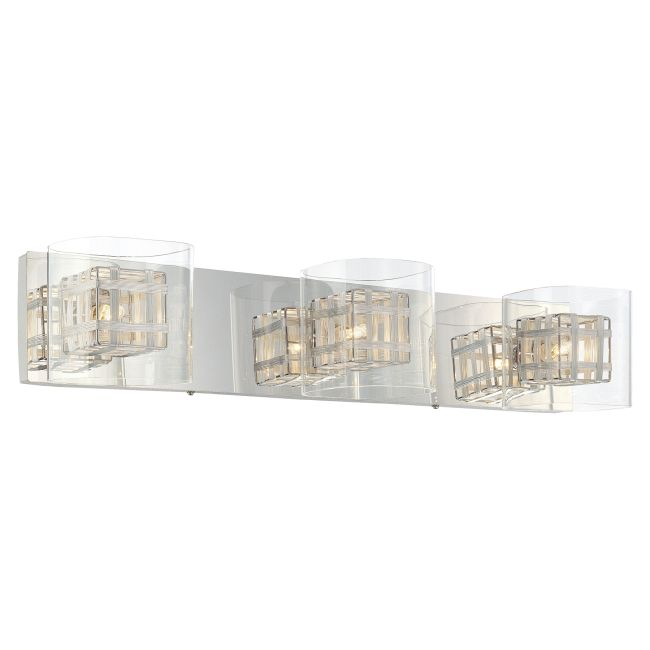 Jewel Box Bath Bar 3-Light  by George Kovacs <br /> Designer: Megan Hickman