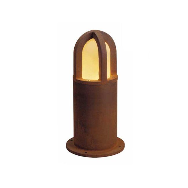 Rusty Cone Outdoor Bollard by SLV Lighting   4229431U