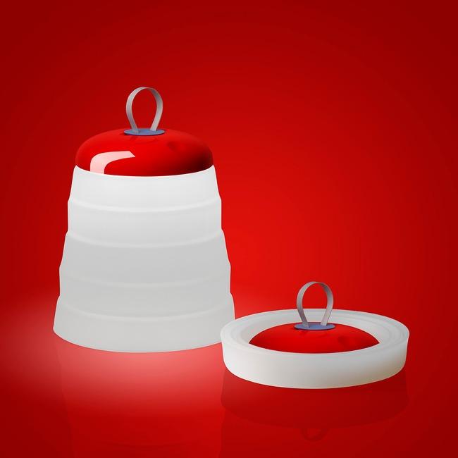 Cri Cri Outdoor Portable Lamp  by Foscarini