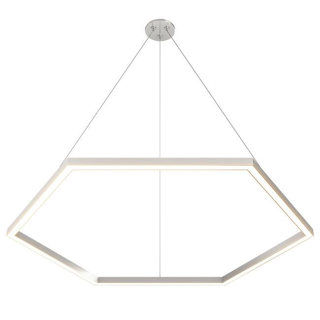 Cirrus Hexagon MIYO with Center Feed Power  by PureEdge Lighting