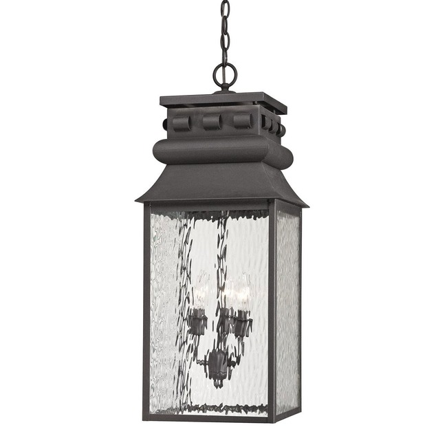 Forged Lancaster Outdoor Pendant  by Elk Lighting