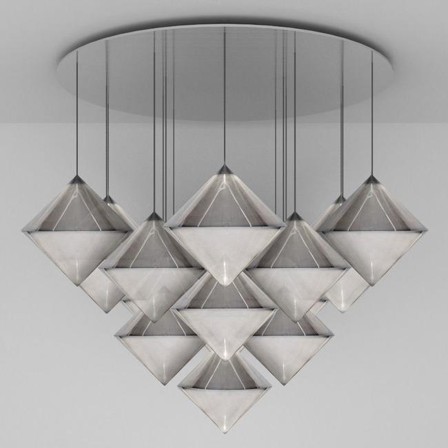 Top Mega Multi Light Pendant  by Tom Dixon