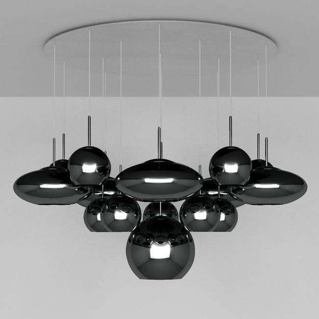 Range Mega Multi Light Pendant  by Tom Dixon