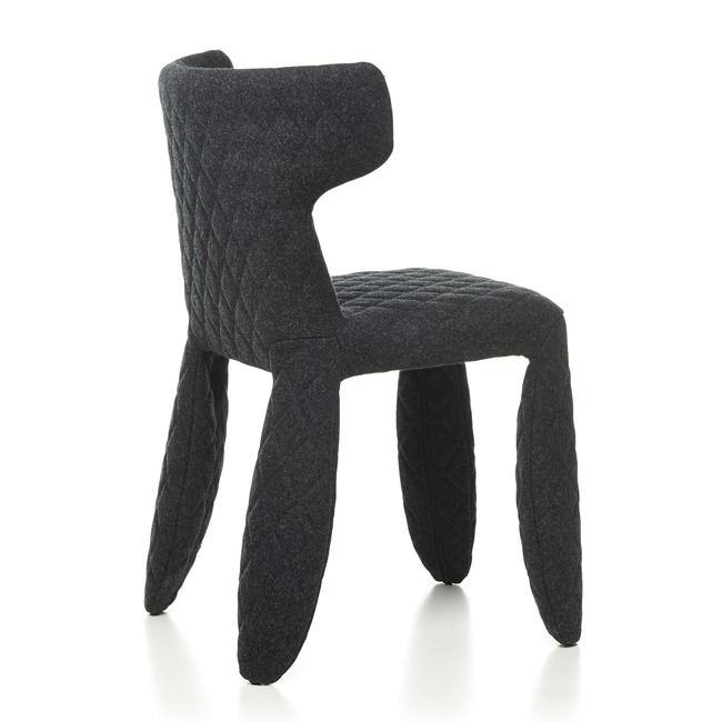 Monster Divina Melange Side Chair with Arms  by Moooi