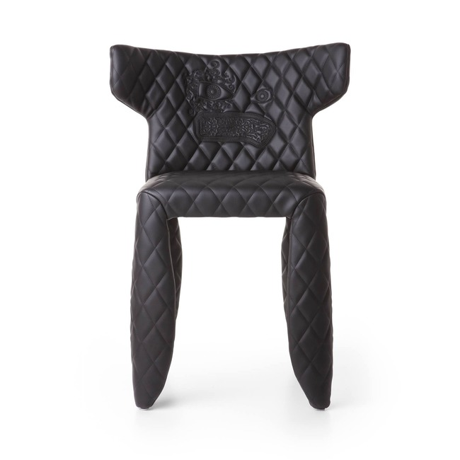 Monster Side Chair with Arms and Embroidery  by Moooi