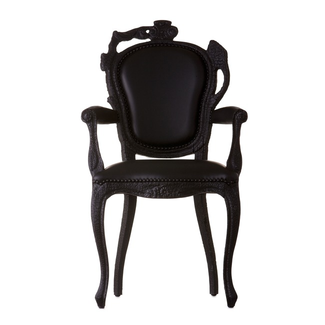 Smoke Dining Armchair  by Moooi