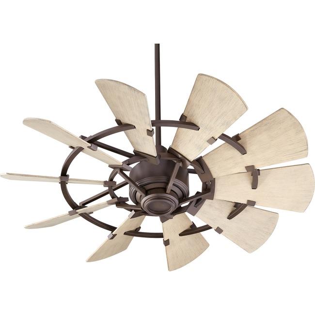 Windmill Ceiling Fan  by Quorum