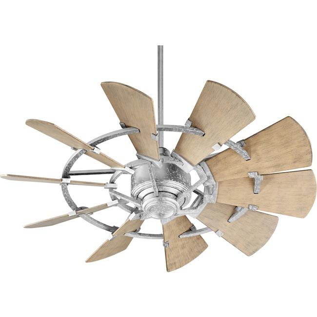 Windmill Outdoor Ceiling Fan  by Quorum