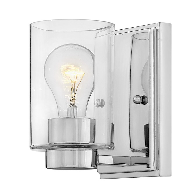 Miley Clear Glass Wall Light  by Hinkley Lighting