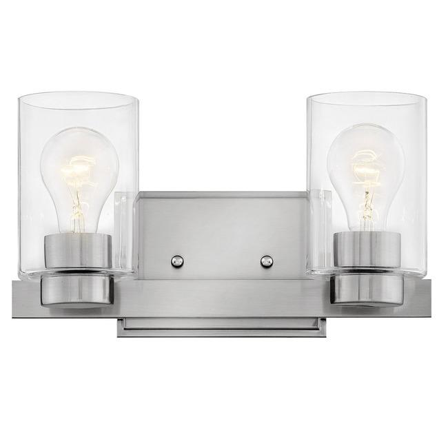 Miley Clear Glass Bathroom Vanity Light  by Hinkley Lighting