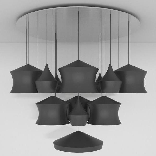 Beat Mega Multi Light Pendant  by Tom Dixon