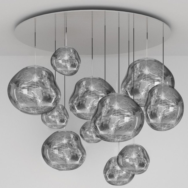 Melt Mega Multi Light Pendant  by Tom Dixon