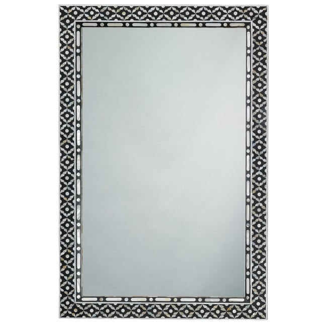 Evelyn Rectangle Mirror  by Jamie Young Company