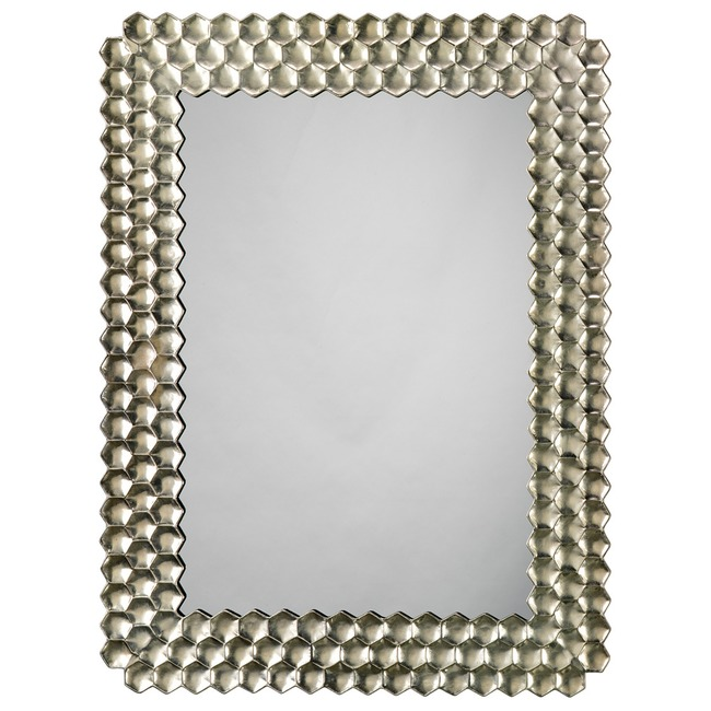 Honeycomb Mirror  by Jamie Young Company