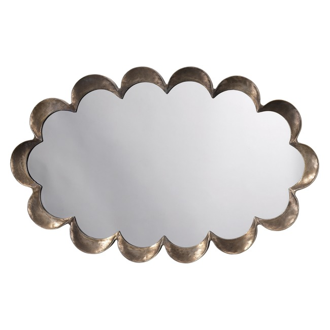 Scalloped Mirror  by Jamie Young Company