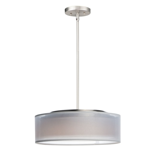 Prime Double Shade Pendant  by Maxim Lighting