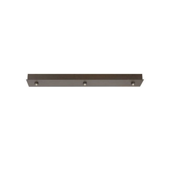 FreeJack LED 3-Port 28 Inch Linear Canopy  by Tech Lighting | 700FJL3Z-LED